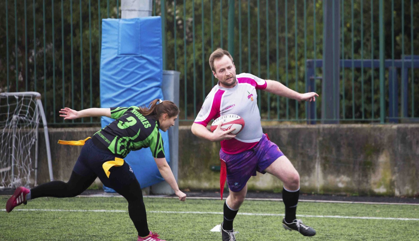Tag rugby is like speed dating for South Dublin people