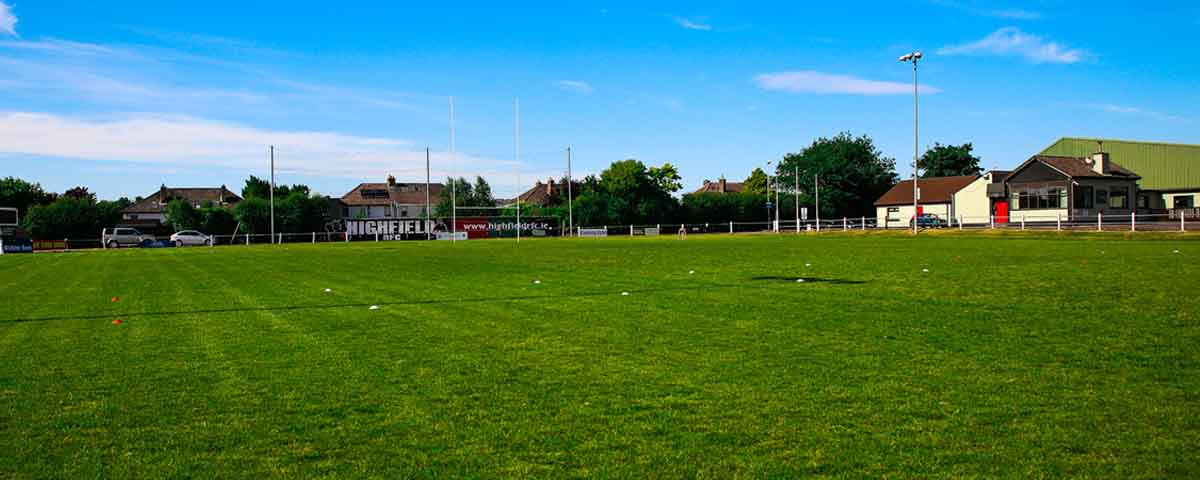 Highfield RFC grounds and clubhouse Cork.