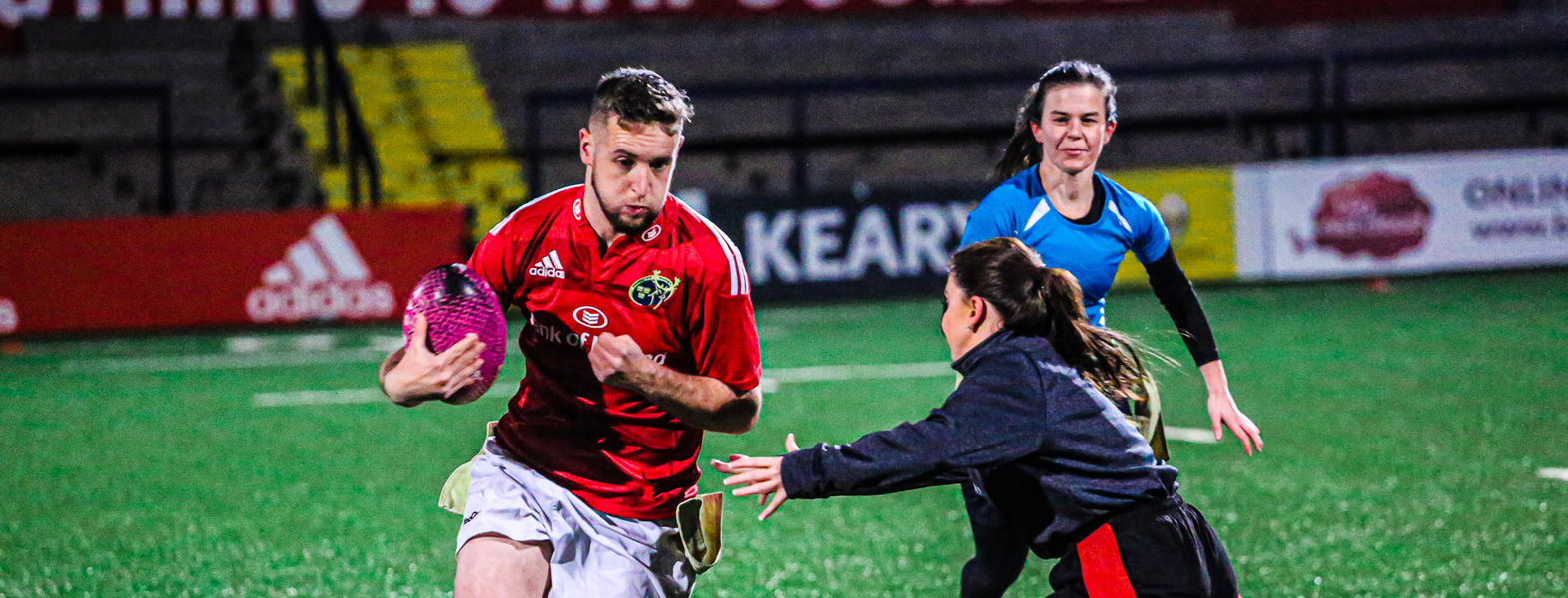 Cork Tag Rugby in Irish Independent Park