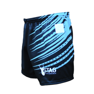 Krypton Unisex Tag Rugby Shorts Left Side View