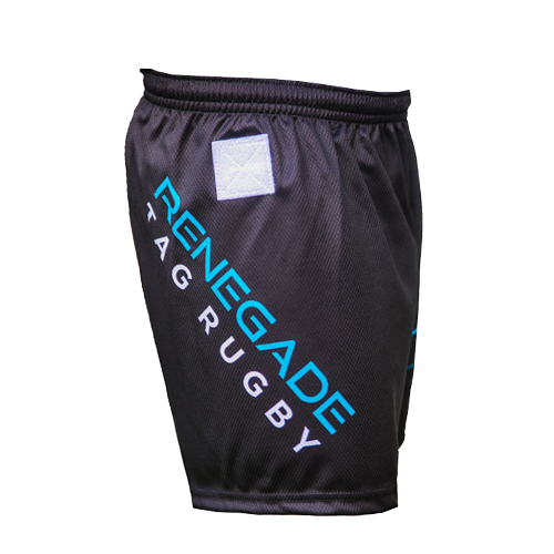 Krypton Unisex Tag Rugby Shorts Right Side View