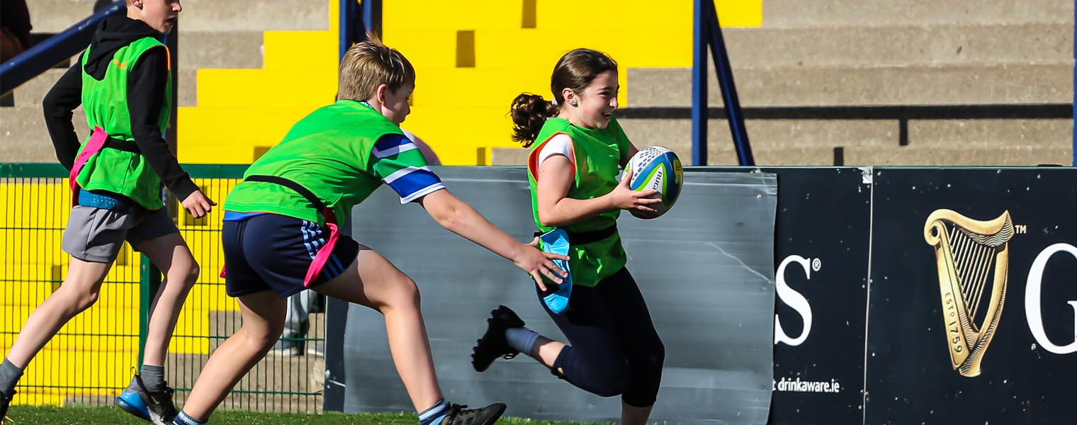 Kids Tag Rugby in Cork