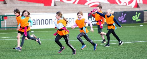 Kids Tag Rugby Training
